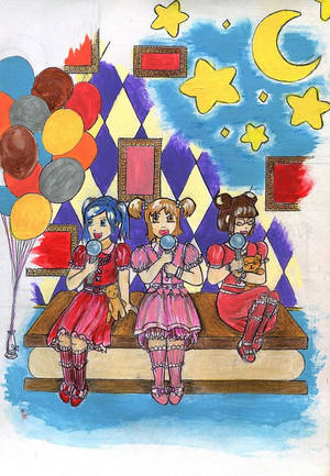 Fairy Idol Kanon ~15th Anniversary Contest by I-See-Them-Too