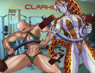 Time to get new gym equipment by Lonzo1