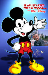 My 1st Mickey Mouse by Lonzo1