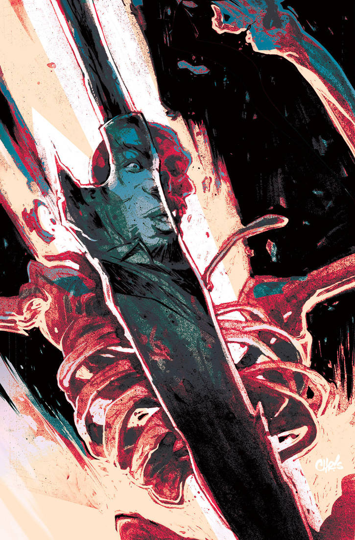 DEAD LETTERS #6 Color by ChrisVisions