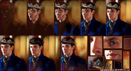 Prince Merlin Process by StarshipSorceress