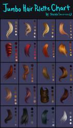 Jumbo Hair Palettes Chart by StarshipSorceress