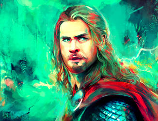 Thor by StarshipSorceress