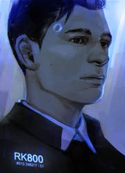 Connor by StarshipSorceress