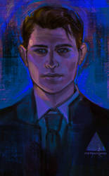 DBH Connor by StarshipSorceress
