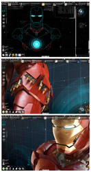 Stark Desktop Mark III by Geek-Chic