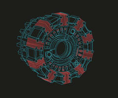 Arc Reactor lines by Geek-Chic