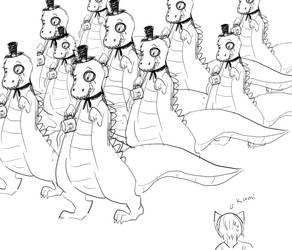 British dinosaurs by dakynai