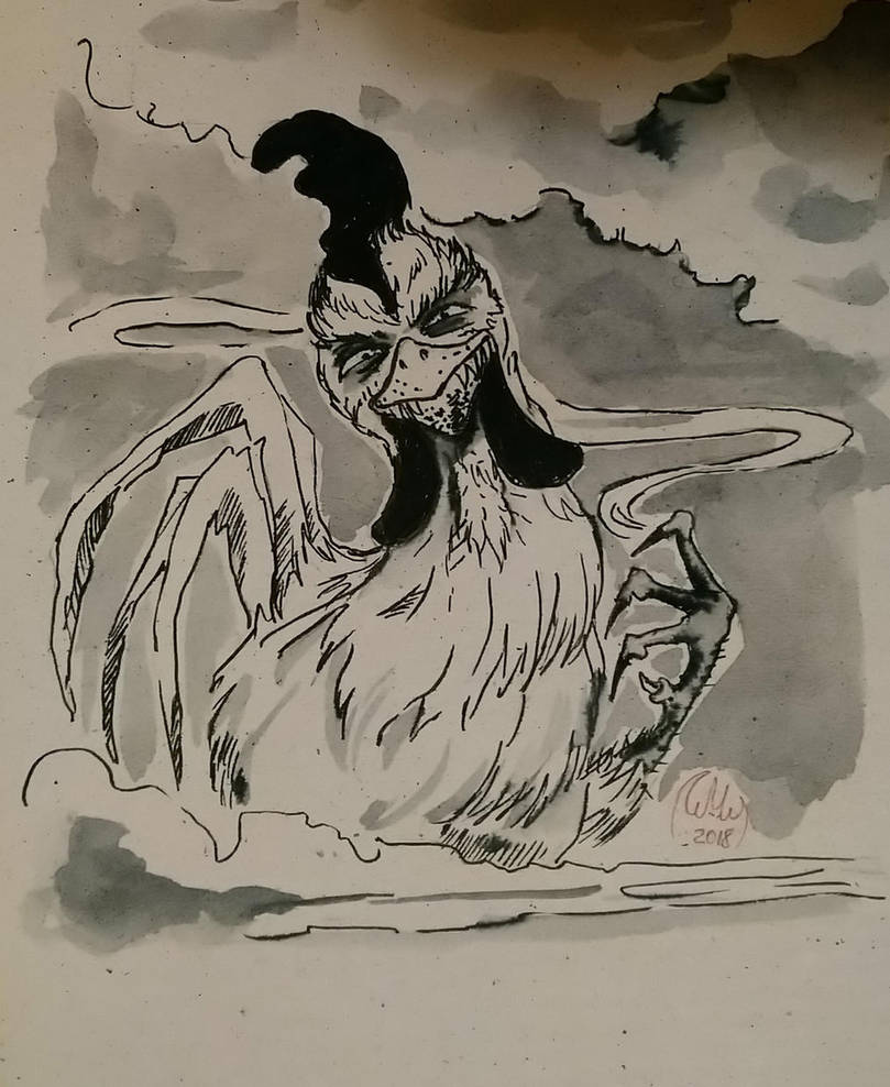 Roasted cock, day 3 by Komuri