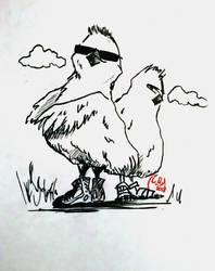 Chicken Day5 by Komuri