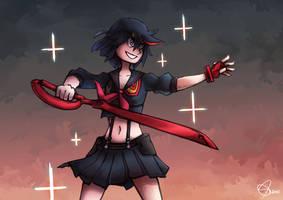 Kill la Kill - Ryuko by brandon-chung