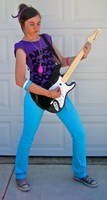 Guitar Girl 15 by imagine-stock