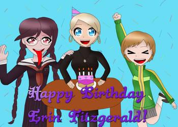 Happy Birthday to Erin Fitzgerald! by AsahiGirl