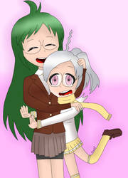 A Big Hug From Your Little Sister by AsahiGirl