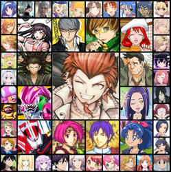 Favorite Characters by AsahiGirl