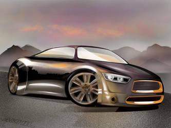 CAR Sketch by batoutofthehell