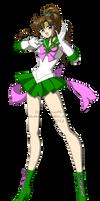 Sailor Jupiter color test by PhinyxRose