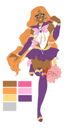 Sailor Actaea (color ref) by PhinyxRose
