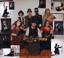 STEAMPUNK CAVALCADE PREVIEW by Shadowelement-Stock
