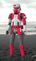 Scarif Shocktrooper (Digibash) by Azikira