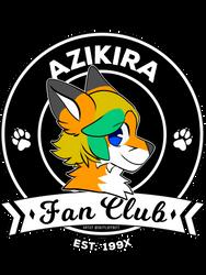 Azikira Fan Club - By DatFluffButt - T-Shirts by Azikira