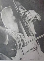 Cello by CHaverlandArt