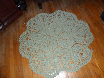 Crochet Rug by Corrinthia