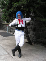 James of Team Rocket Cosplayer by lost-capella