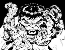 Hulk 600 Cover by DexterVines