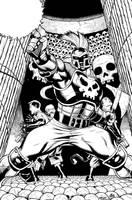 Dark Avengers Ares by DexterVines