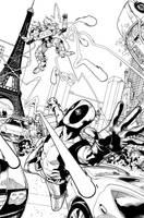 Deadpool 25 Cover. by DexterVines
