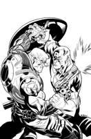 Avengers X-Sanction Cover 1. by DexterVines