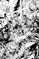 Wolverine and The Xmen Cover 37 by DexterVines