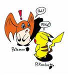 Pokemon meets Digimon by wackko200