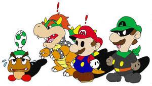 Super Paper Mario by wackko200