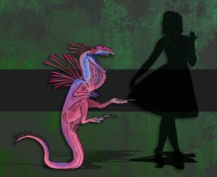 Dinovember Day #6 - Tiny Tyrant by zap123build