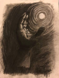 Charcoal hand practice by acollins973
