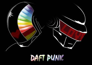 Another Daft Punk ...art by FrozenFenrir