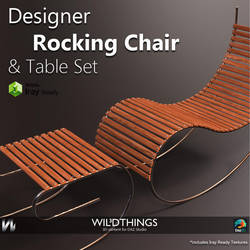 Rocking Chair- Main-image by SinAWiL