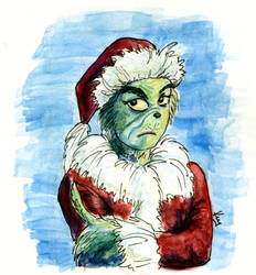 You're a mean one, Mr.Grinch by MsVillainess