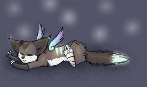 I'm tired. by Kinarei