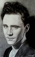 Tom Hiddleston by MidnightRoseGarden