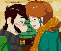 Mario: A lovely Christmas by kasanexkagamine