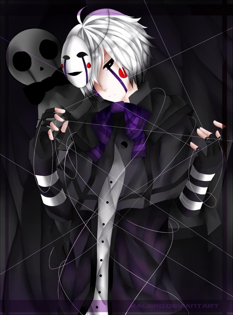 FNAF   Puppet by Kaijiiro
