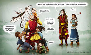 Catch the Avatar by ShiftyShirshu
