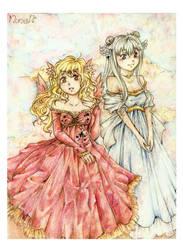 Two sisters by Vilyann