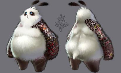 Tatoo panda by ilison