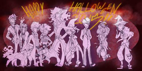 Halloween 2015 Final by NinGeko