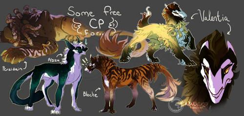 .:Free CP Set 1:. by NinGeko