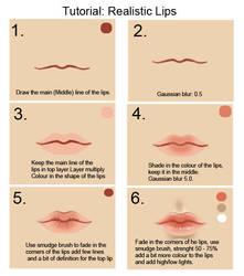 Tutorial: Lips by cgart4u